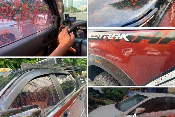 Kẻ tạt sơn hàng chục xe ô tô ở Hà Nội có thể bị xử lý hình sự