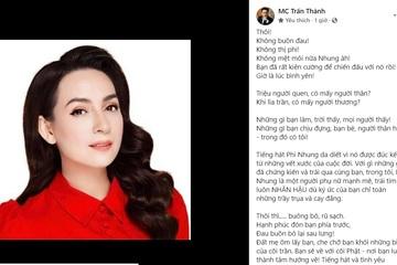 MC Trấn Thành giải thích khi bị anti-fan chỉ trích cách gọi cố ca sĩ Phi Nhung là 'bạn'