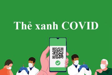 'Thẻ xanh Covid-19 kiểm soát dịch chứ không phải kiểm soát con người'