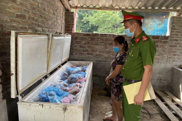 """1 tấn thịt lợn nhiễm dịch tả lợn châu Phi suýt """"tuồn"""" ra thị trường tiêu thụ"""
