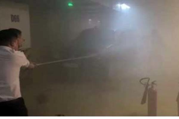 Làm rõ nguyên nhân vụ cháy xe ô tô ở tầng hầm chung cư cao cấp tại Hà Nội