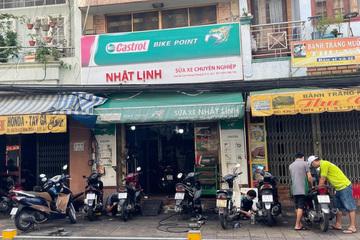 Tiệm sửa xe ở TP Hồ Chí Minh bỏ túi vài triệu đồng trong buổi sáng đầu tiên mở cửa