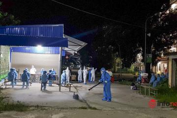 Hà Nội: Đưa hơn 100 F1 tại Bệnh viện Việt Đức đi cách ly trong đêm