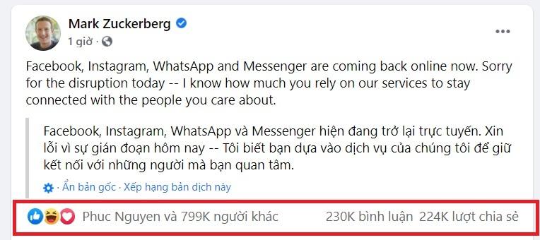 Dân mạng hoang mang sau 1 đêm không được 'chém gió' trên facebook: Phải tính kế lâu dài thôi!