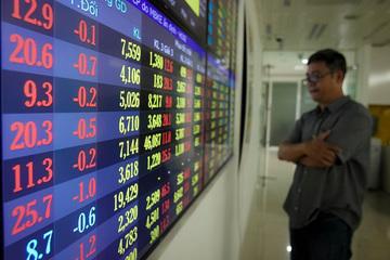 Cổ phiếu ngân hàng đang đà trượt dốc