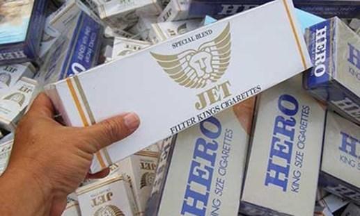 Đồng Tháp: Một tháng thu giữ hơn 60.000 bao thuốc lá ngoại không chứng từ