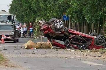 Tai nạn ở Bắc Ninh 6 người thương vong: Xe con quá hạn đăng kiểm 5 tháng