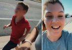 Bà mẹ gây phẫn nộ vì phạt con trai 5 tuổi chạy dưới trời nắng hơn 40 độ C
