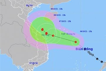Áp thấp nhiệt đới khả năng mạnh lên thành bão, gió giật cấp 11