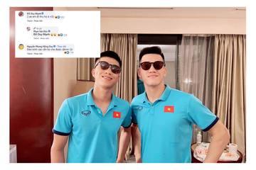 Phan Văn Đức đăng ảnh sẵn sàng trước giờ bóng lăn, Duy Mạnh vào chốt 1 câu 'lạc đề'