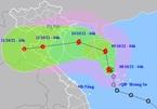 Bão số 7 di chuyển phức tạp, ảnh hưởng Bắc Bộ và Bắc Trung Bộ