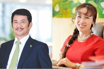 Top 5 tỷ phú giàu nhất sàn nhất loạt kiếm thêm nghìn tỷ, bà Thảo và ông Nhơn hóa đổi vị trí