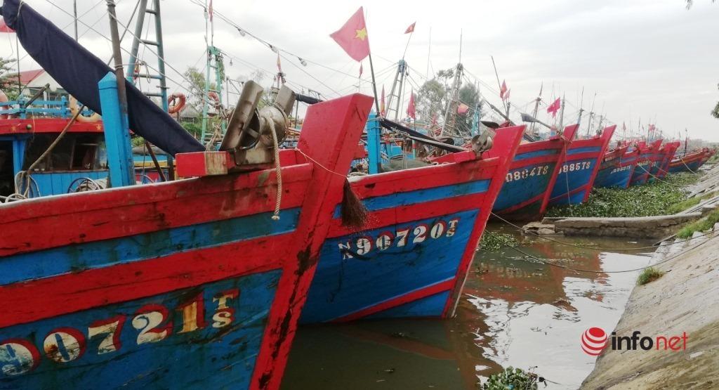 Nghệ An: Cấm biển từ 0h ngày 10/10, hơn 3.200 tàu thuyền đã về nơi tránh trú