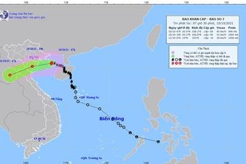 Bão số 7 chưa tan hiện cách Hải Phòng khoảng 170km, biển Đông lại xuất hiện thêm cơn bão mới
