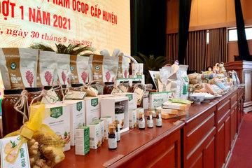 Hà Nội: 22 sản phẩm OCOP của huyện Hoài Đức được phân hạng 3-4 sao
