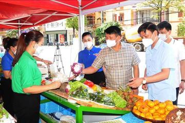 Sơn La tổ chức kết nối, tiêu thụ nông sản, sản phẩm OCOP các tỉnh bị ảnh hưởng dịch bệnh