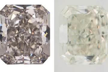 Lần đầu tiên phát hiện kim cương đổi màu cực hiếm