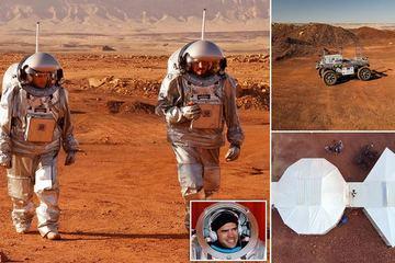 Thử nghiệm cuộc sống sao Hoả ngay trên sa mạc ở Trái Đất