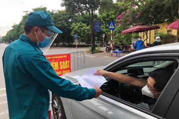 Từ ngày 13/10, người Hà Nội về các tỉnh Thái Bình, Hải Phòng như thế nào?