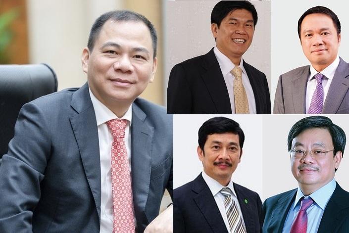 Top 10 người giàu nhất sàn chứng khoán,Tỷ phú Việt Nam
