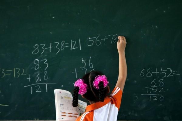 dạy con,học toán,sách giáo khoa