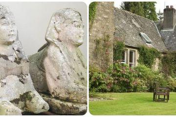 Tưởng bức tượng cũ kỹ trong vườn, ai ngờ là di vật Ai Cập cổ đại có giá siêu khủng