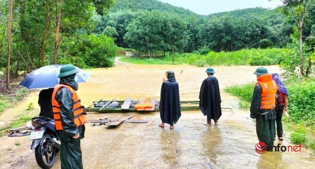 Nghệ An: Hàng trăm bè mảng 'lên bờ' tránh bão, đảm bảo an toàn cho học sinh, giáo viên, trường học