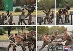 Video đặc nhiệm Triều Tiên thể hiện khả năng phá bê tông và bẻ cong sắt
