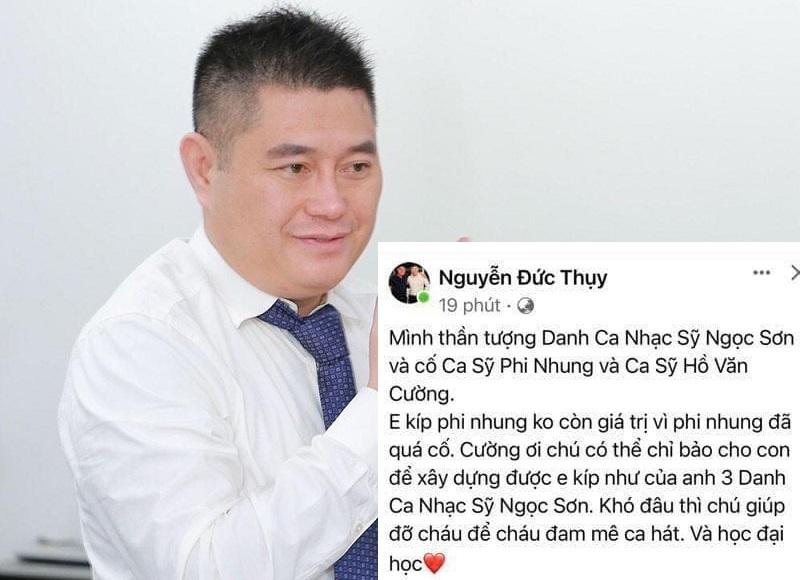 Phó Chủ tịch ngân hàng muốn giúp Hồ Văn Cường có ekip hoành tráng như Ngọc Sơn, học đại học