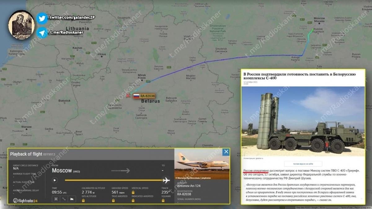 Nga gấp rút chuyển giao S-400 cho Belarus trước mối đe dọa Ukraine