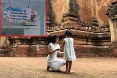Tấm bảng trên hành lang trường học ở Hà Nội và câu chuyện dạy con đáng suy ngẫm của 1 bà mẹ