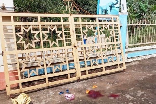 Quảng Nam: Sập cổng trường, hai trẻ mầm non thương vong