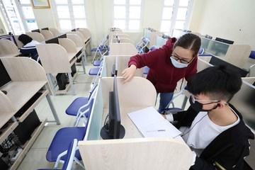 Các đại học ở Hà Nội, TP.HCM rục rịch đón sinh viên trở lại trường