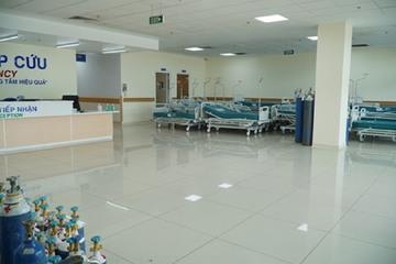 Khoa Cấp cứu Bệnh viện Hồi sức Covid-19 lần đầu tiên 'ế' bệnh nhân