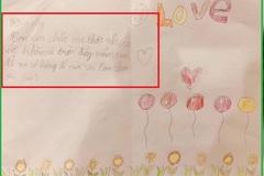 Lời chúc 20/10 gửi mẹ của bé lớp 2 khiến dân mạng bật cười vì độ hồn nhiên