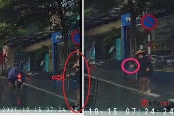 Nhân thân người phụ nữ 'bí ẩn' ném đá vào ô tô chạy trên đường Hà Nội