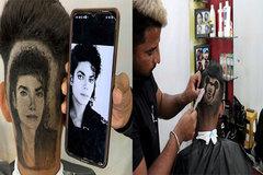 Kiểu tóc kỳ lạ của đàn ông Ấn Độ, 'in hình' chuột Mickey, Michael Jackson lên đầu