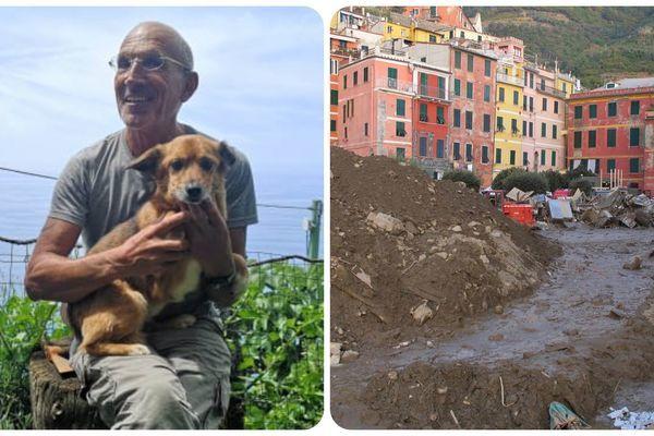 Chú chó nhanh trí cứu sống chủ nhân khỏi trận lở đất kinh hoàng