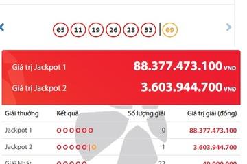 Mua Vietlott qua tin nhắn, một người trúng Jackpot hơn 3,6 tỷ đồng