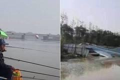 Tiêm kích J-10 của không quân Trung Quốc gặp nạn, 2 phi công nhảy xuống sông