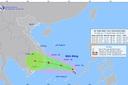 Xuất hiện áp thấp nhiệt đới cách đảo Song Tử Tây khoảng 220km, có khả năng mạnh lên thành bão