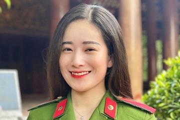 Bảng thành tích 'kín trang A4' của nữ thủ khoa Học viện Cảnh sát Nhân dân xinh đẹp