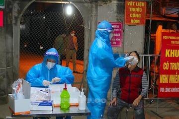 Thêm 5 ca nghi mắc Covid-19, ổ dịch ở huyện Quốc Oai diễn biến hết sức phức tạp