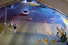Khởi tố lái xe hất văng CSGT để 'thông chốt'