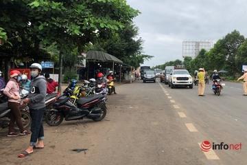 Cán bộ và người lao động ở Đắk Nông không được đến hoặc về Đắk Lắk trong 14 ngày